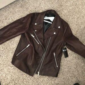 Doma genuine leather motorcycle jacket
